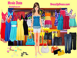 Gioca gratuitamente a Movie Date Dressup