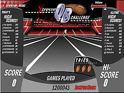 เล่นเกมฟรี Xtreme QB Challenge