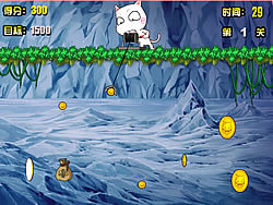 Gold Miner Cat game