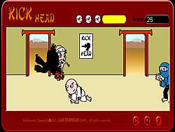 무료 게임 플레이 Kick Head
