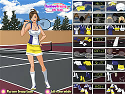 Game Tennis Player