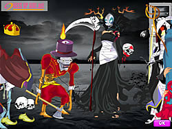 scary halloween dressup - Dress Up Games For Halloween