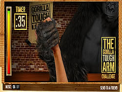 無料ゲームのThe Gorilla Tough Arm Challengeをプレイ