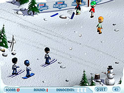 무료 게임 플레이 Ski Slope Showdown