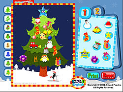 Making Christmas Tree game