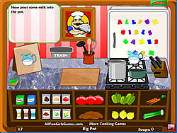 Gioca gratuitamente a Luigi's Kitchen - Soup