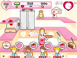 Game Valentine's Shop