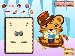 jeu Baby Tiger Dressup