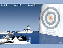 Juega al juego gratis Yeti Sports (Part 2) - Orca Slap