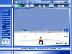 Downhill Skii game
