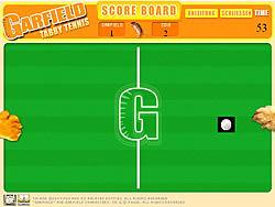 Jouer au jeu gratuit Garfield Tabby Tennis
