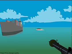 Permainan Foxy Sniper - Pirate Shootout