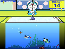 Game Doraemon Fishing