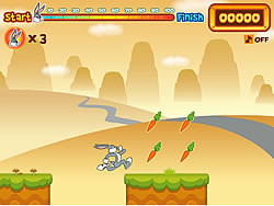Game Bugs Bunny's Hopping Carrot Hunt