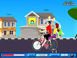 Game Cycling Kiss
