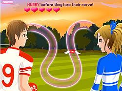 Highschool Sweethearts Kissing Game