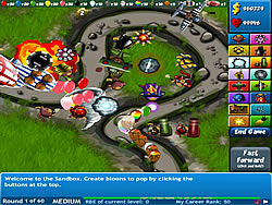 Permainan Bloons Tower Defense 4