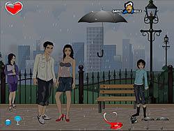 Kiss in the Rain game
