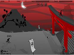 मुफ्त खेल खेलें Ninja Hunter Blood Moon