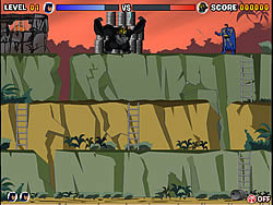 Gorilla Grodd - Barrels of Peril игра