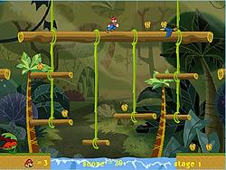 Mario Jungle Adventure game