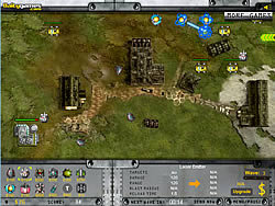 Artillery Defense game
