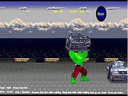 Hulk's Car