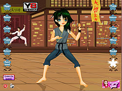 Game Karate Kickin Chic Dress Up