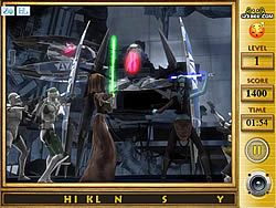 Star the Clone Wars - Find the Alphabets