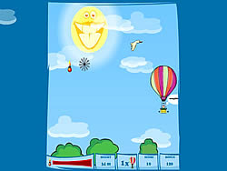 Game Balloon Flight
