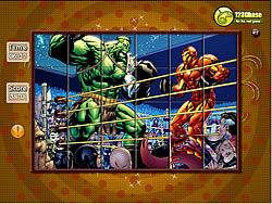 Spin n Set - Hulk Boxing game