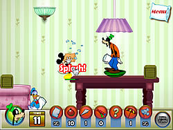 Juega al juego gratis Mickey And Friends in Pillow Fight