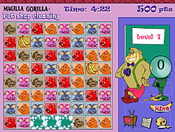 無料ゲームのMagilla Gorilla - Pet Shop Cleaningをプレイ