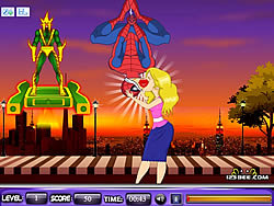 Game Spider Man Kiss