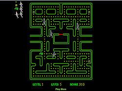 Game Ben 10 Pacman