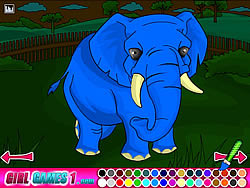 Gioca gratuitamente a Zoo Coloring Game