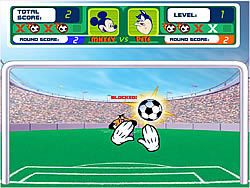 Game Mickey's Soccer Fever