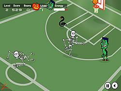 Spooky Hoops game