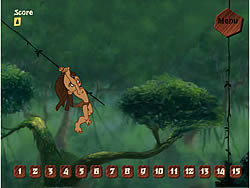 Game Tarzan Swing