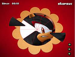 Sonic The Hedgehog - Round Puzzle