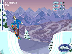 Game Scoobydoo : Big Air Snow Show