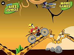Game Super Bike Jungle
