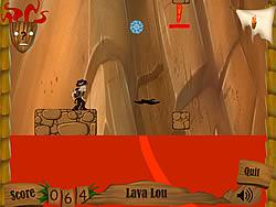 Lava Lou game