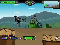Juego Ben 10 BMX