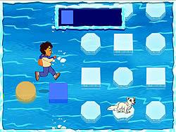 無料ゲームのDiego's Arctic Rescueをプレイ