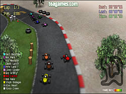 Red Kart Racerゲーム