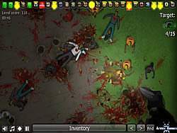 Game Insectonator Zombie Mode