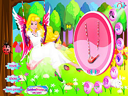 Princess on the Swing
