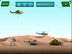 Game Army Copter