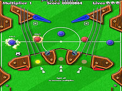 jeu Pinball Football